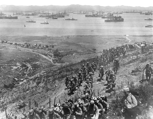 Aircraft over Gallipoli