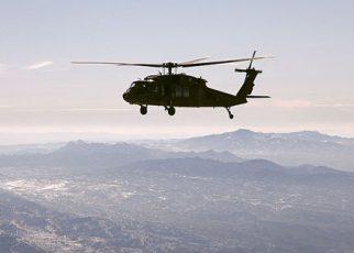 Black Hawk over Afghanistan