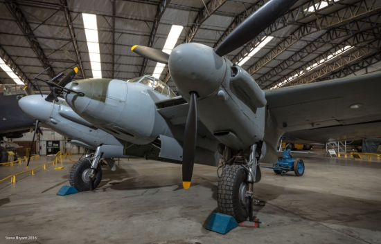 de havilland mosquito was exceptionally strong