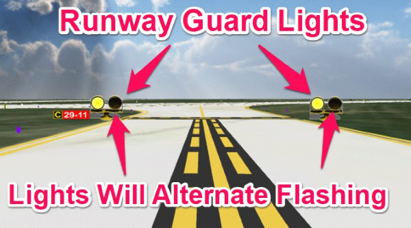 runway guard lights