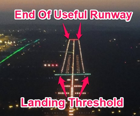 runway threshold lights