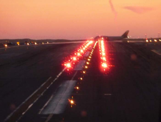 taxiway centerline lead on lights