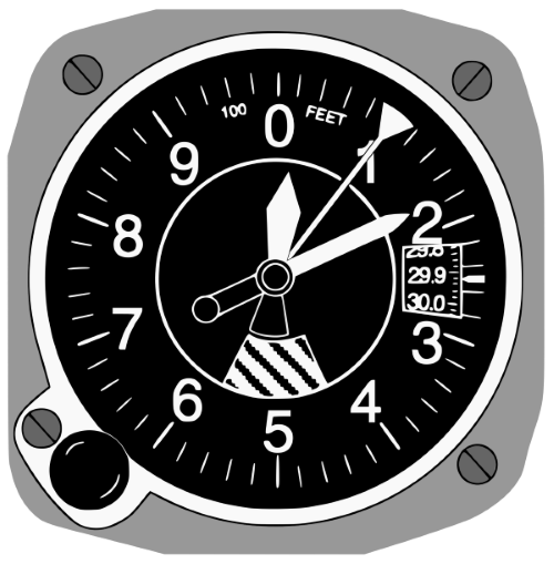 aircraft altimeters explained