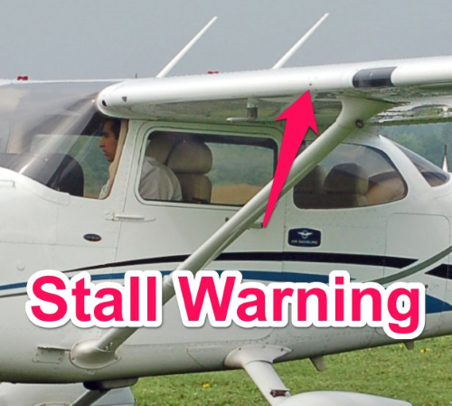 cessna 172 stall warning system - parts of an airplane