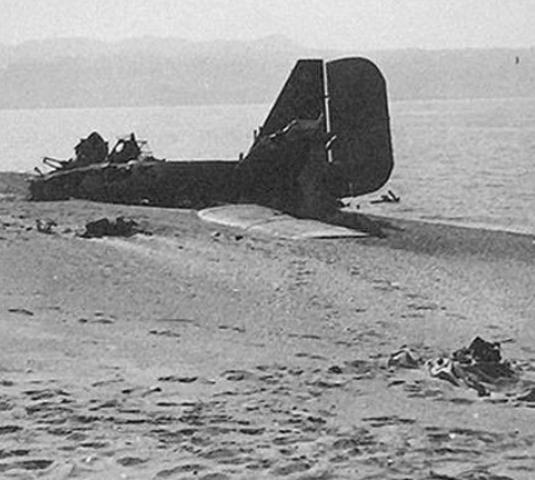 a junkers ju 52 shot down during operation mercury