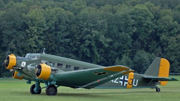 one of the few remaining airworthy Junkers Ju 52s left in operation