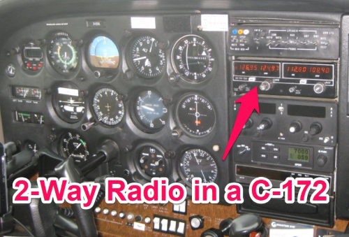 radio communication is required in class d airspace