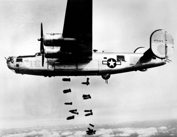 the b-32s design was inspired by the b-29, pictured above